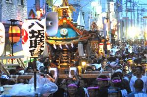 埼玉県杉戸町の夏まつり2012